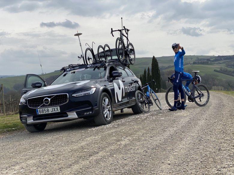 Tour d'Italie - Marc Soler a reconnu la onzième étape du Tour d'Italie
