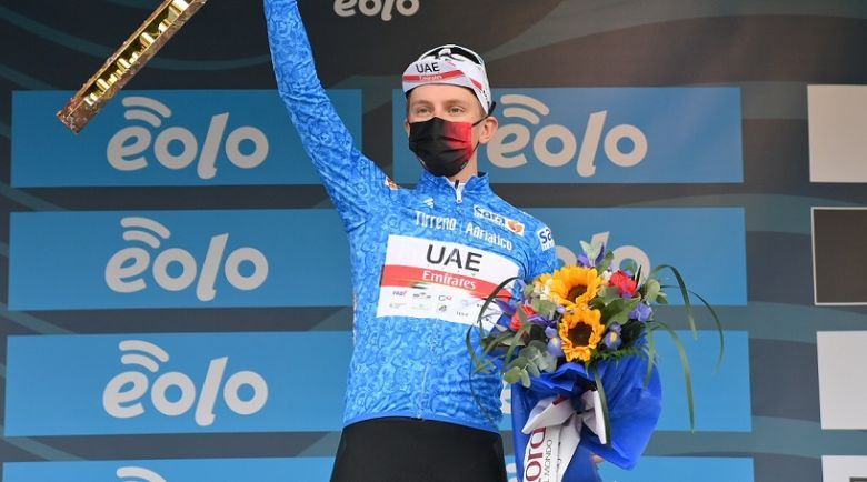 Tirreno-Adriatico - Tadej Pogacar : «Un fantastique début de saison»