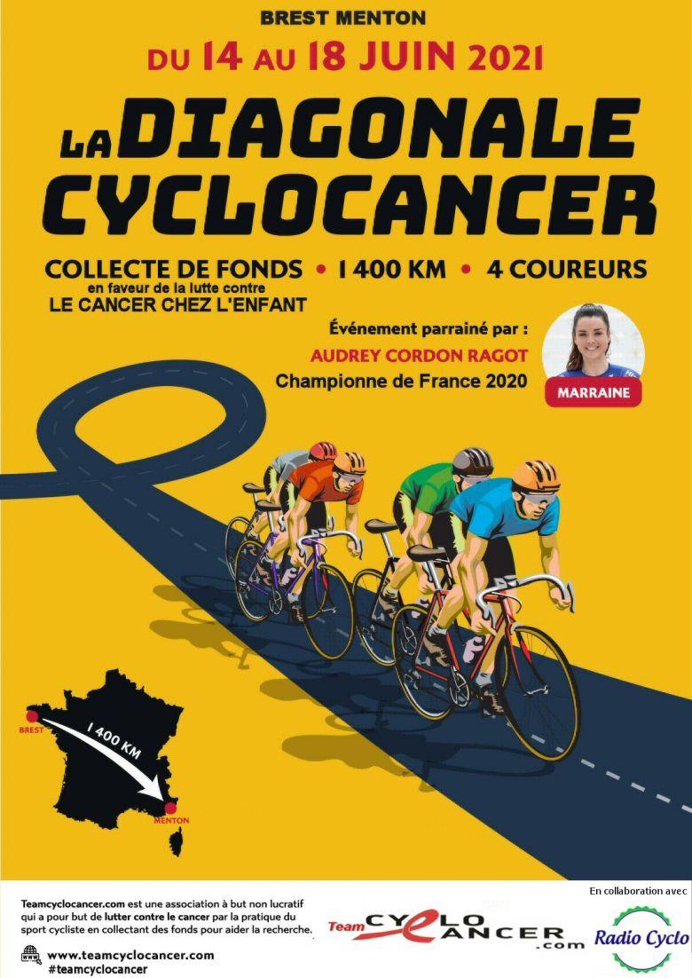 Cyclo - Du 14 au 18 juin, la Team Cyclo Cancer fera Brest - Menton